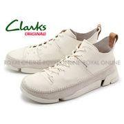 【クラークス】 26117915 カジュアルシューズ トライジェニックフレックス ホワイト メンズ