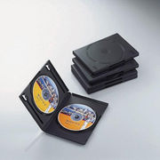エレコム DVDトールケース CCD-DVD05BK
