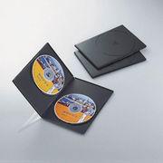 エレコム スリムDVDトールケース CCD-DVDS04BK