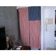 【星条旗シリーズ】アメリカンのれん(85×150)