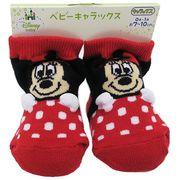【ベビー】ミニーマウス 新生児 はじめての靴下