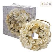 new Sola Flower ソラフラワー リース オリジナルローズ Wreath◆ポプリ/造花
