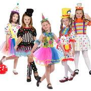 ハロウィン衣装 仮装 ハロウィーン 5タイプ 女の子 ワンピース キッズ ピエロ コスプレ