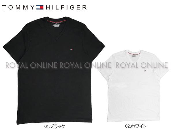 S) 【トミーヒルフィガー】 09T3140 半袖Tシャツ ベーシック コットン コア フラッグ 全2色 メンズ