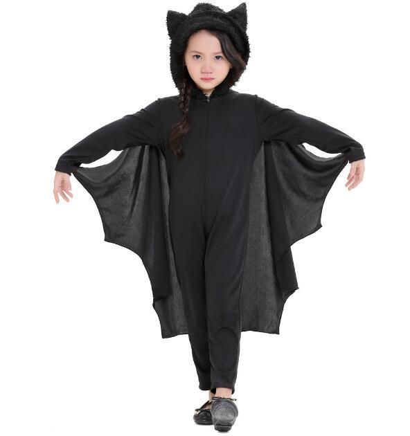 ハロウィン衣装  男女兼用 子供 ブラック S-XL 仮装 ハロウィーン コスチューム