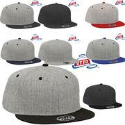 OTTO Heather Wool Blend Flat Visor Pro Style Snapback Caps-125-1054 14462
