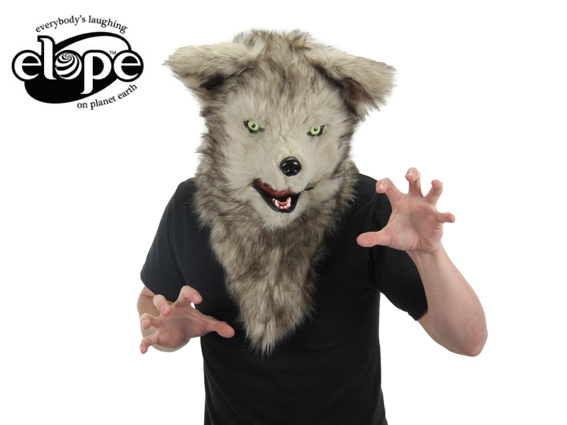ELOPE Mouth Mover WOLF Mask  13926