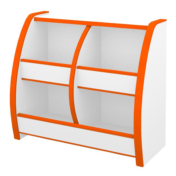 おもちゃばこ 幅65cm カラー6色(オレンジ・グリーン・ブルー・オレンジ・レッド・ホワイト・ブラウン)