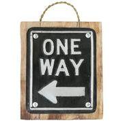 アルミ サインボード ONE WAY