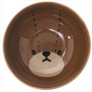 《キッチン雑貨》くまのがっこう 磁器製お茶碗/フェイス