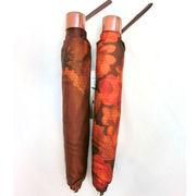 【日本製】【雨傘】【折りたたみ傘】蜂の巣柄生地転写プリント花柄日本製軽量コンパクト折畳傘
