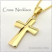 ステンレス ネックレス クロス 十字架 ゴールド レディース メンズ アクセサリー