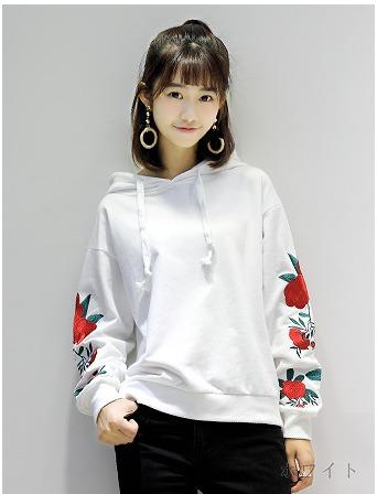 【初回送料無料】ファッションロマンチックトップス★ホワイト/ブラック2色●too-zfsxe8331-223【17】