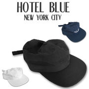 HOTEL BLUE Taslan Logo Hat  16037