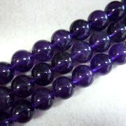 アメジスト8ミリ(3A)1連売り アメジスト 紫水晶 天然石 パワーストーン 浄化 健康
