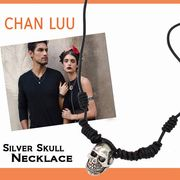 【激安!】CHAN LUU チャンルー ユニセックス スカルチャーム  ネックレス ブレスレット<2WAY>
