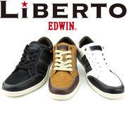 liberto EDWINの人気 レースアップ メンズカジュアル スニーカー