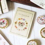 メモパッド ねこ「fleurs&chats~book~」