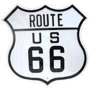 エンボスメタルサイン ROUTE66