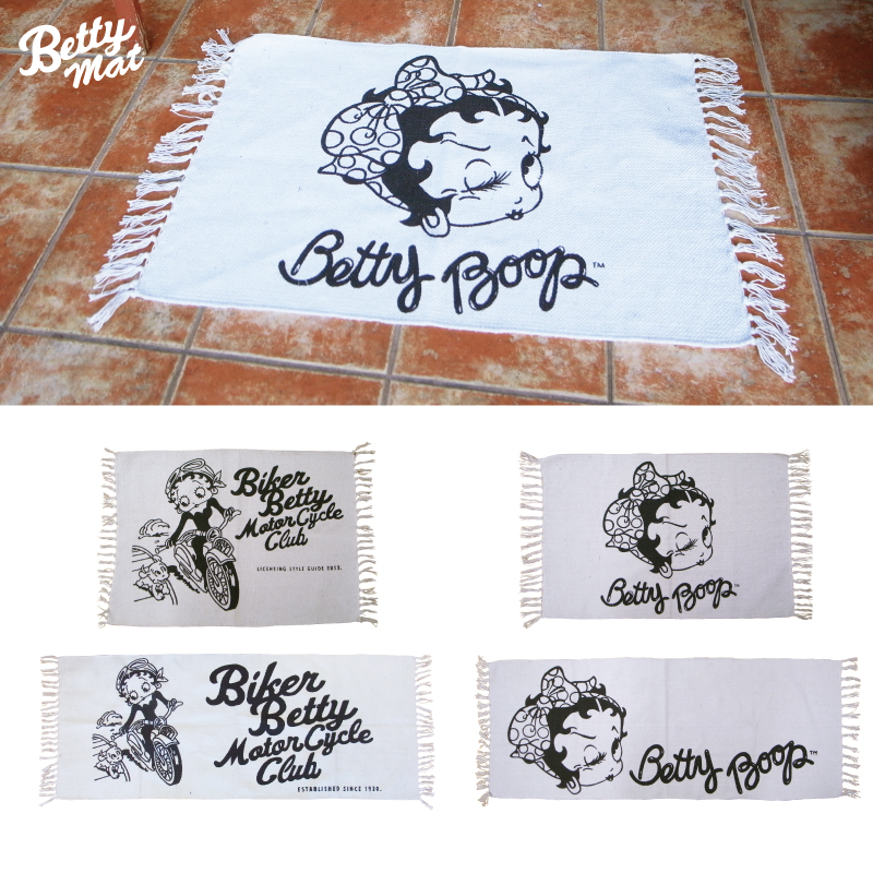 BETTY BOOP COTTON MAT