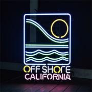 ネオンサイン【OFF SHORE CALIFORNIA】オフショア (カリフォルニア)