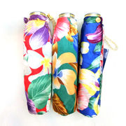 【日本製】【雨傘】【折りたたみ傘】超軽短サテンプリントミニ日本製折畳傘