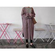 【秋冬新作】ファッションセーター♪グレー/パープル/ブラック3色展開◆