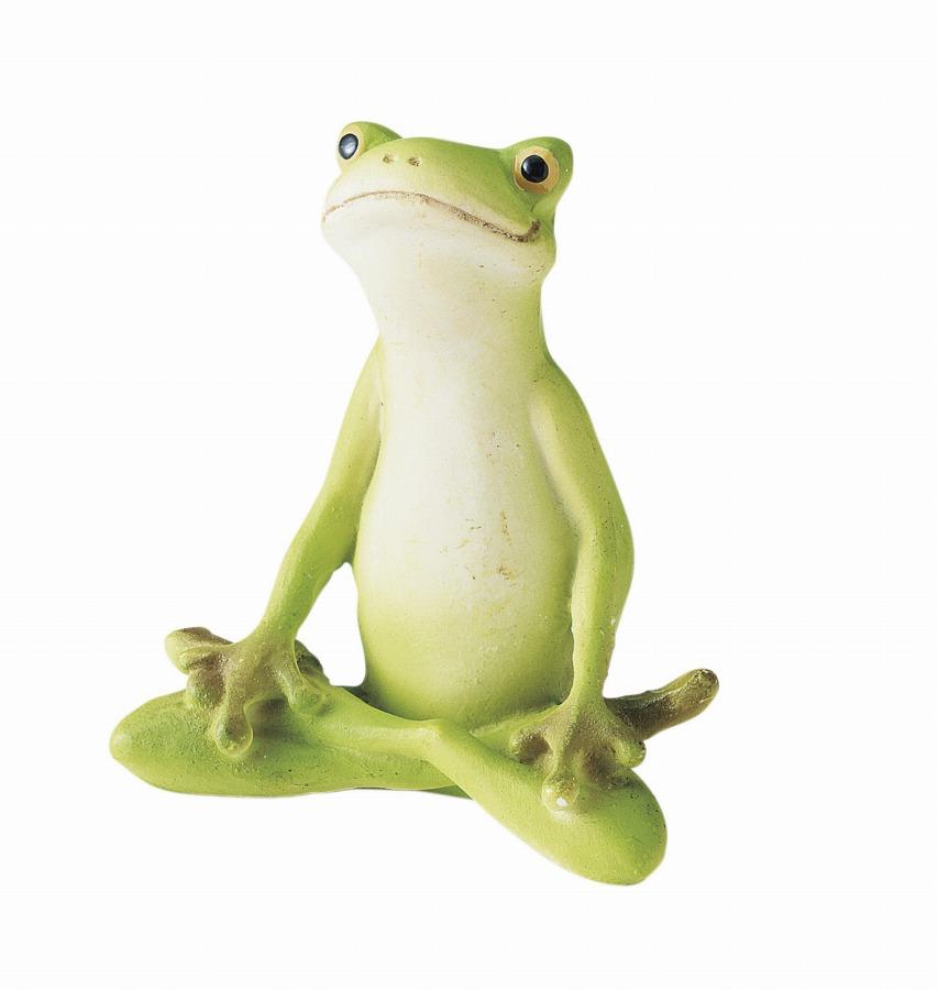 <AMANO>【レジン製フロッグ】ミニフロッグ・あぐら カエル