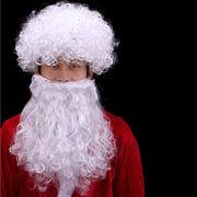 激安!ヘア飾り★クリスマス★キッズ★ダンスパーティー★サンタ★ターバン★ひげ+ウイッグ