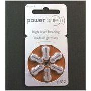 【ボタン電池・乾電池】パワーワン製 補聴器電池  PR41(P312)  PR48(P13)   PR536(P10、PR70)  PR44(P675)