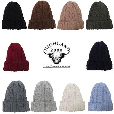 HIGHLAND2000 アルパカニットキャップ ハイランド ニット帽