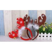 ★クリスマス飾り★クリスマスサンタ クリスマス小物 トナカイの角の髪飾り