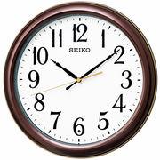 【新品取寄せ品】セイコー電波掛時計 大きな数字と連続秒針のスタンダードデザイン KX234B