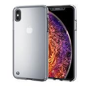 エレコム iPhone XS Max/ハイブリッドケース/クリア PM-A18DHVCCR