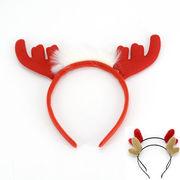 トナカイのカチューシャ/クリスマスぴったりサンタ◎ワンポイント仮装パーティー/ふわふわ3種