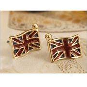 人気!! 国旗デザインピアス イギリス アンティーク調 耳飾り  FD-1044