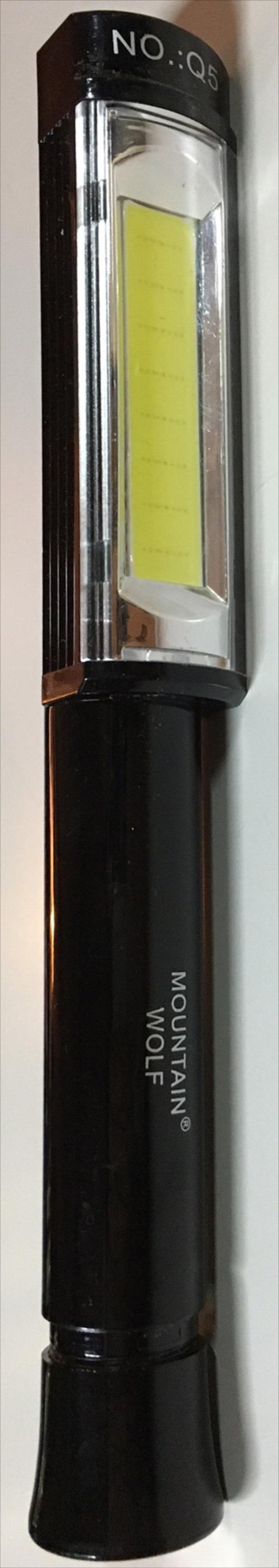 マウンテンウルフ ワーキングCOBライト  / 懐中電灯 LEDライト COBライト 防犯 アウトドア