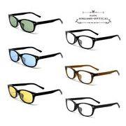 ★sunglasses&optical★  ウェリントン  カラーレンズ  プラスチックフレーム  サングラス【全6色】