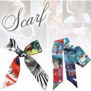 BLHW150298◆5000以上【送料無料】◆★細スカーフ バッグスカーフ 長方形細スカーフ