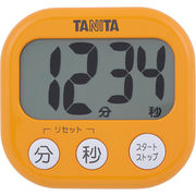 TANITA 〈タイマー〉でか見えタイマー TD-384-OR(アプリコットオレンジ)