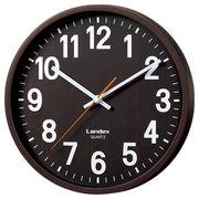 インテリア掛時計 ダークブラウン