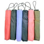 【雨傘】【折りたたみ傘】ユニセックス超軽量日本製リップストップミニ折畳雨傘