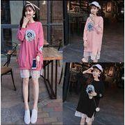 【大きいサイズM-4XL】ファッション/人気トップス♪ブラック/ピンク/ライトパープル3色展開◆