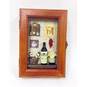 キッチン模型小物入れ 収納ボックス  レトロ アンティーク風  収納ボックス  ヨーロピアン  インテリア