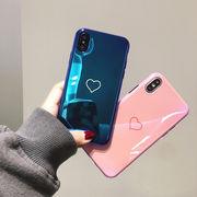 ハート柄iphone7plusカバー アイフォーンケース ソフトケース
