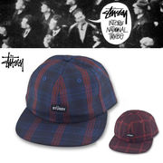 STUSSY PLAID STRAPBACK CAP  16328