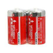 三菱(赤)マンガン乾電池 単1 2p