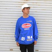 ストリート系 HIPHOP 長袖 トップス GELTOOB【ゲルトゥーブ】G-010 DB-LTS L/S TEE BLUE