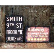LEDサインライト<SMITH/SUBWAY>