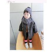 男児 ウールコート 冬服 新しいデザイン 赤ちゃん 手厚い  コート 女児 中長デザイン